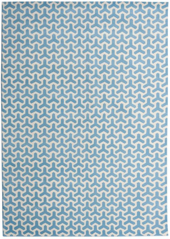 Предметы Фото Cog Blue New Rug Collection Ковер Ар-деко New Rug