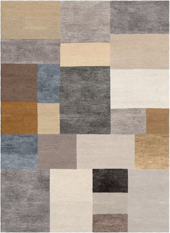 Предметы Фото Pixels Neutral New Rug Collection Ковер Ар-деко New Rug