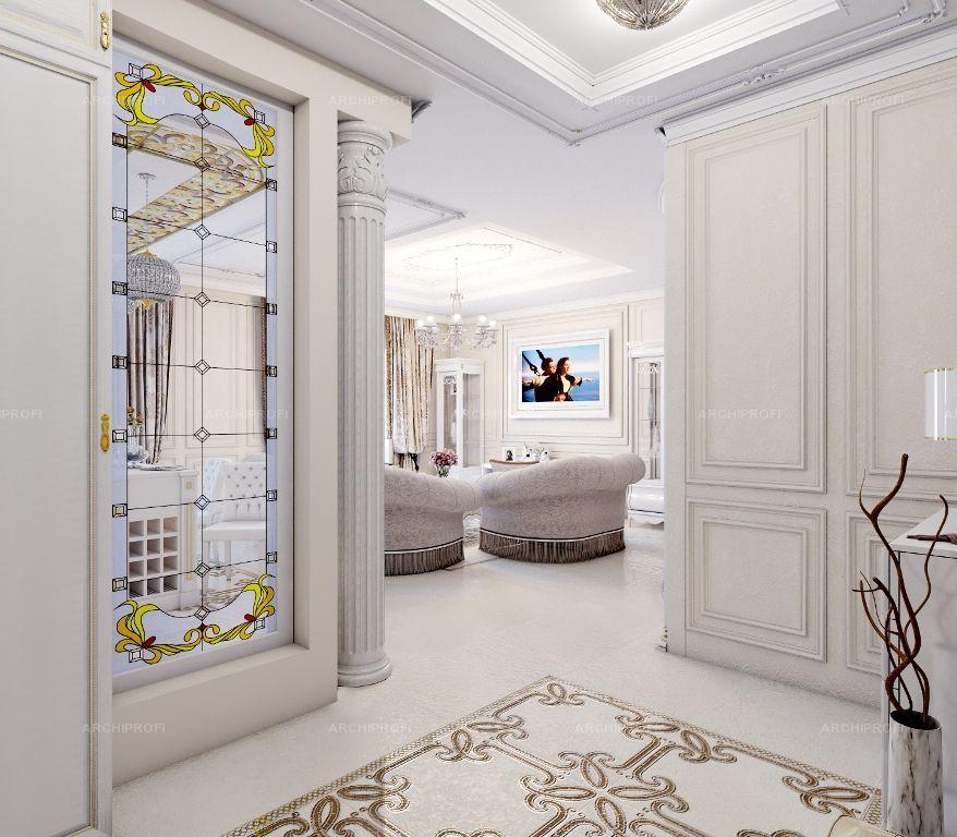 классический интерьер квартиры в светлых тонах для жалобы могут