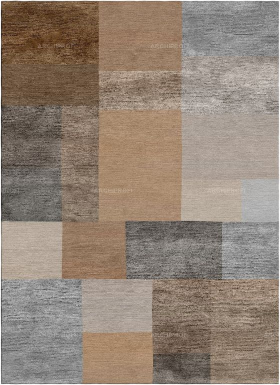 Предметы Фото Pixels Brown New Rug Collection Ковер Ар-деко New Rug