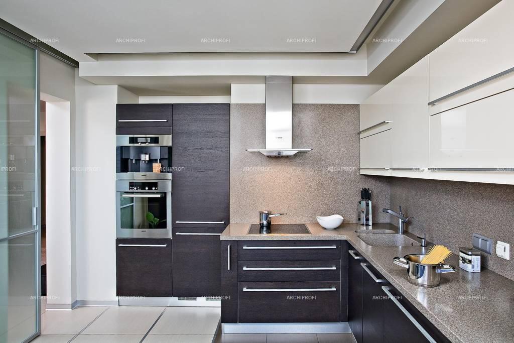 Дизайн кухни в п44 трешка