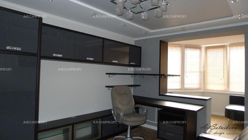 Интерьер фото комната подростка вид от двери квартира москов.