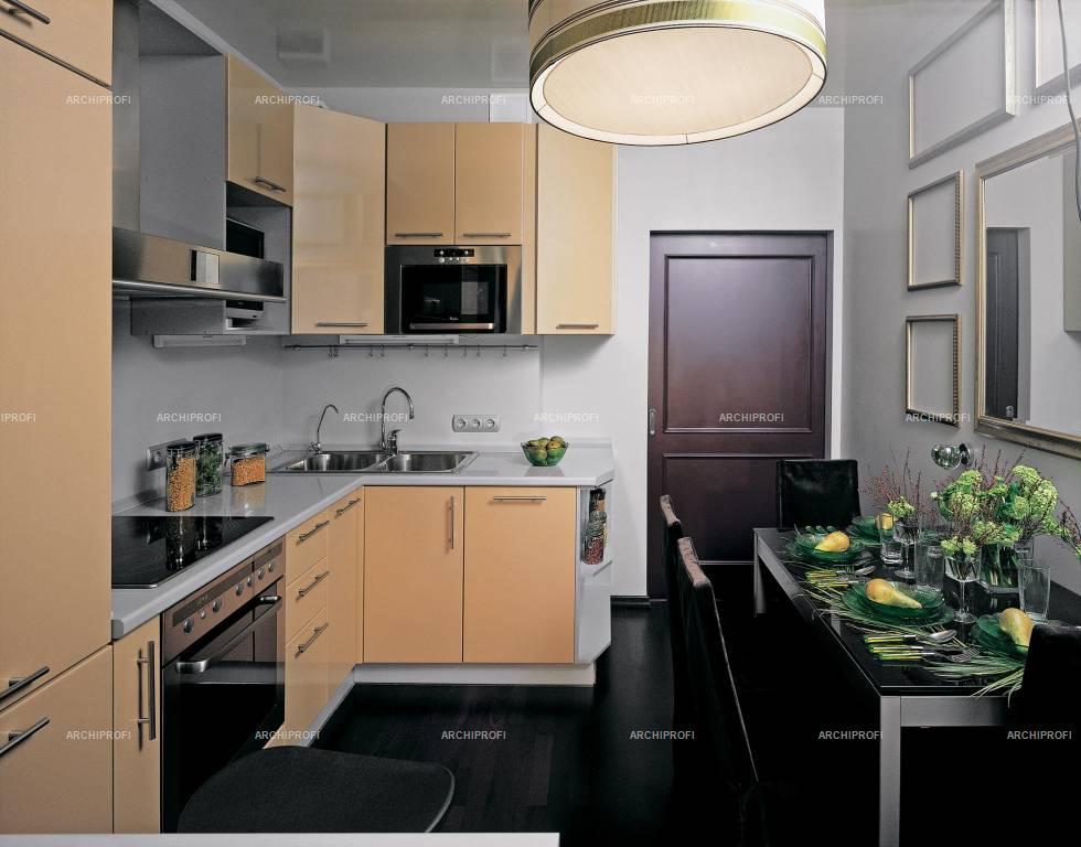 Дизайн кухни 9 кв м панельный дом 45 фото идей.