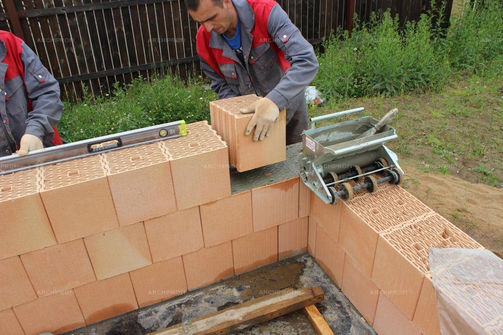 Теплая кладочная смесь для керамических блоков своими руками 79