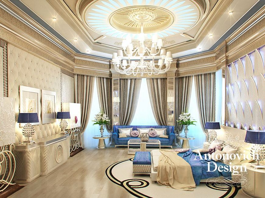 Interior design turkey - Decor oriental design interieur luxe antonovich ...