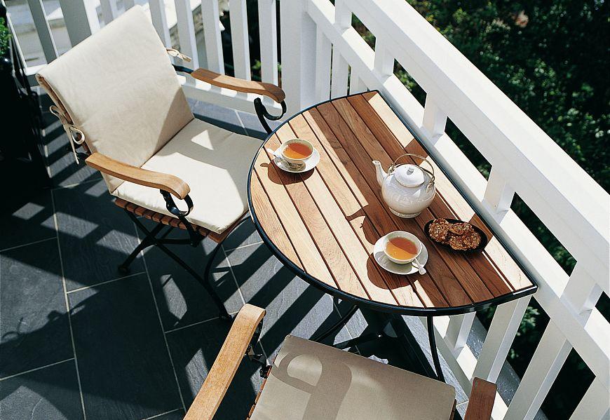 Идеи для тех, кто жалуется на маленький балкон или лоджию мо.