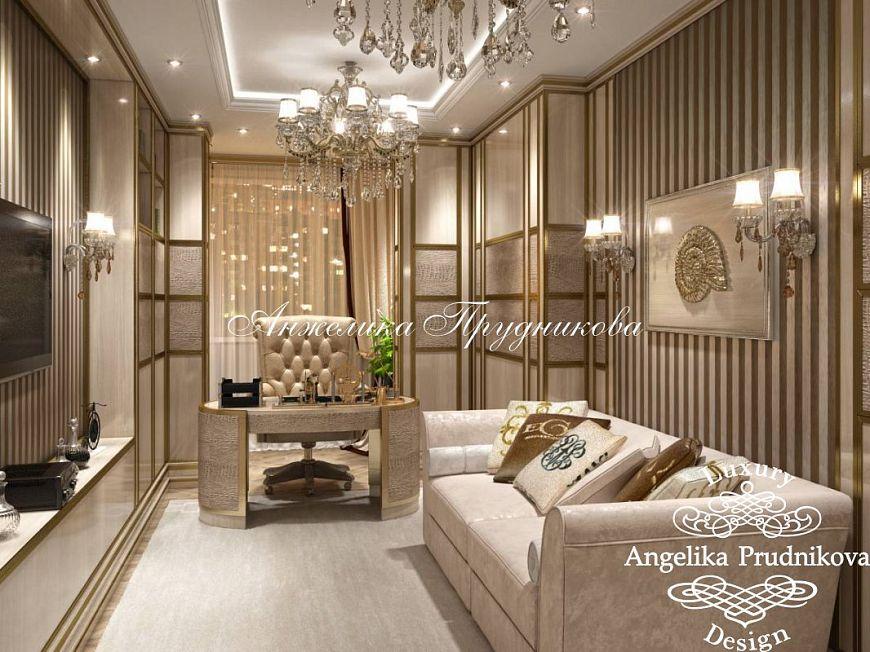 Дизайн кабинета по рисунку 44
