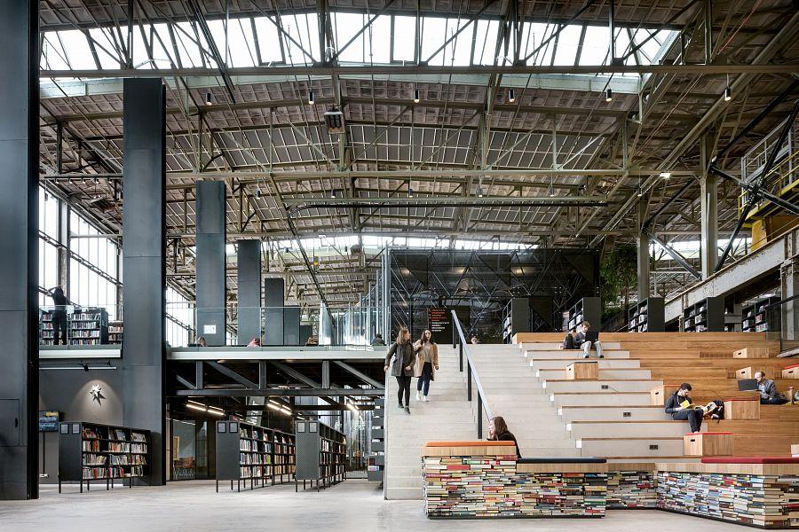 библиотека LocHal в Тилбурге