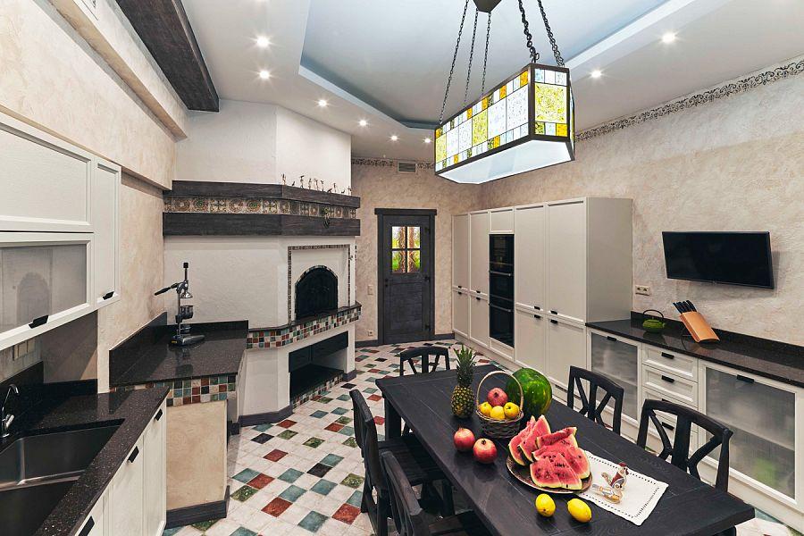 дизайнеры Андрей и Екатерина Андреевы Осовремененное кантри  все для комфортной жизни в частном доме.
